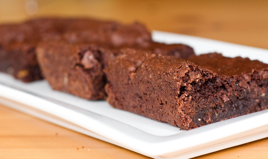 Vegan Brownies in the Microwave | Of Course Vegan