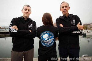 Sea Shepherd's Operation Relentless gets underway to save whales.