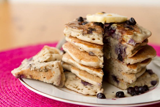 Gluten-free pancakes are a great breakfast dish.