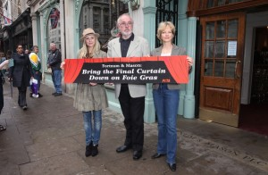 Peter Egan a stalwart in the fight for animals in the UK.
