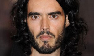 Russell Brand doesn't back down in his attack on meat-eaters.